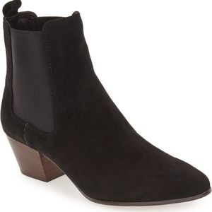 Sam Edelman Reesa Suede Pointed Toe Ankle Bootie